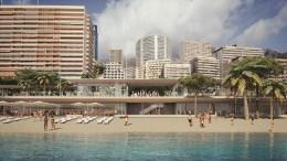 Al Via i Lavori nell'Esclusiva Spiaggia di Larvotto Firmati Renzo Piano - Michel Desvigne