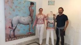 Sanremo: L'Opera di Davide Puma Diventa Capo d'Abbigliamento con la Maison Daphné