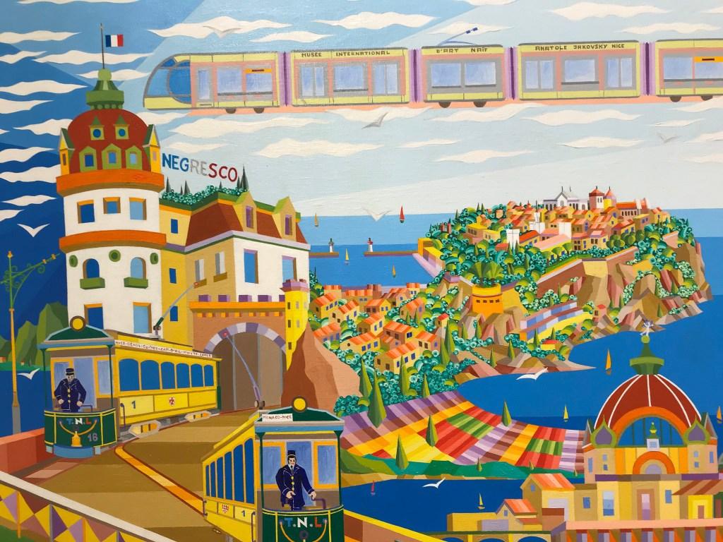 Successo di Au Fil du Temps, Mostra del Pittore Monegasco Claude Gauthier