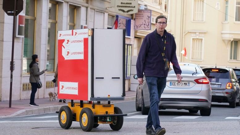 Il Robot ALF Sperimentato a Monaco per Trasportare la Posta