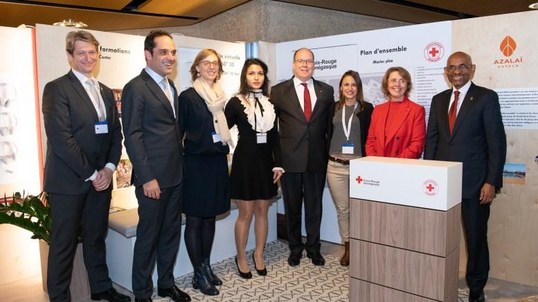 Il Principe Alberto di Monaco alla Conferenza Internazionale della Croce Rossa