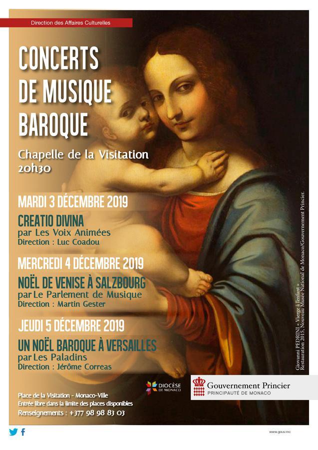 Feste di Natale nel Principato: Terzo Concerto di Musica Barocca