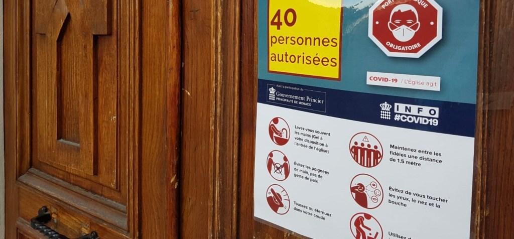 Principato di Monaco: A Messa con Mascherine e Misure Transitorie nel Dopo Confinamento