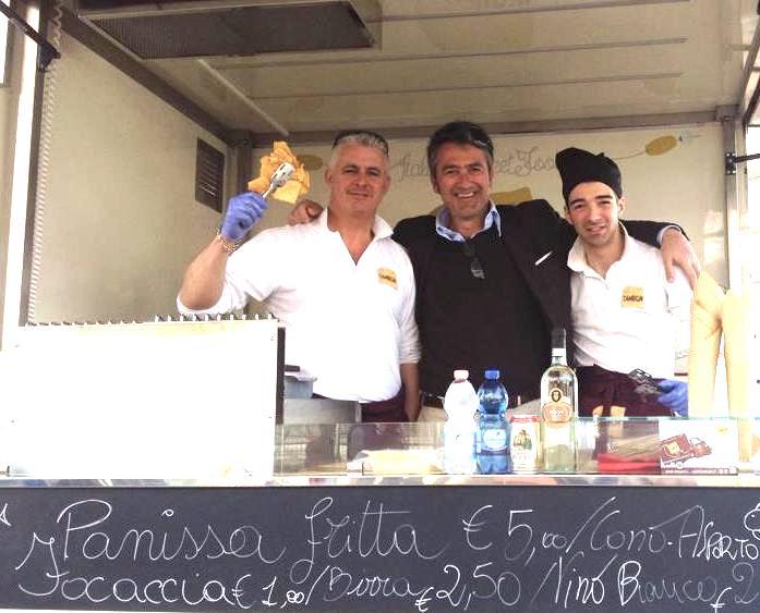 Pesce Fritto e un Bicchiere di Vermentino: Intervista al Genovese Gianluca Pezzotti, sullo Street Food