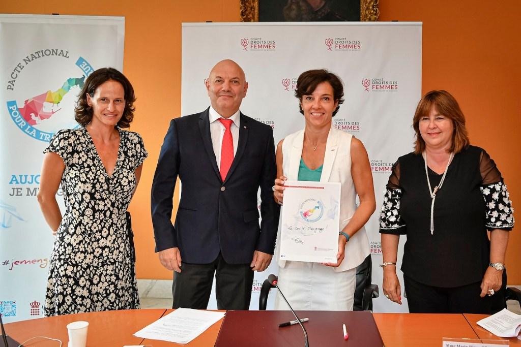 Comitato Diritti Delle Donne E Transizione Energetica A Montecarlo; Ft Stéphane Danna:Dir.Comm.