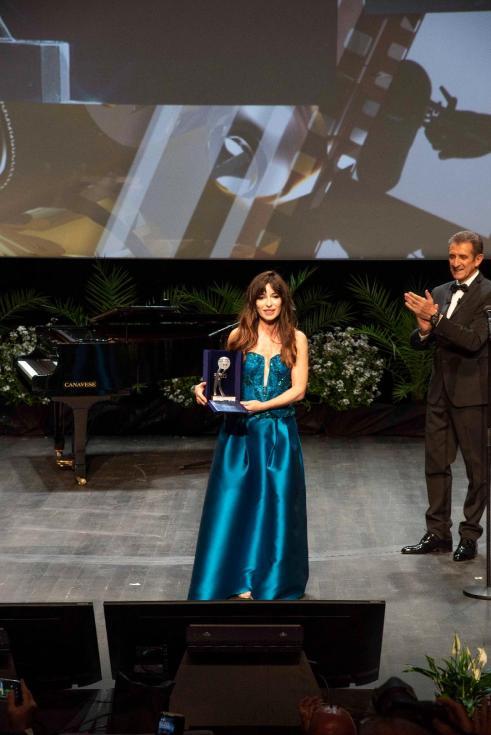 Sabrina Impacciatore Premio Speciale Al Monte Carlo Film Festival Ft.Rosanna Calo