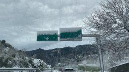 Neve anche sulla Liguria