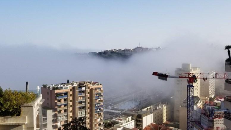 Effetto Nebbia Oggi Pomeriggio nel Principato di Monaco