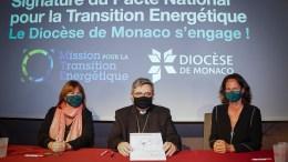 la Diocesi di Monaco firma per la transizione energetica