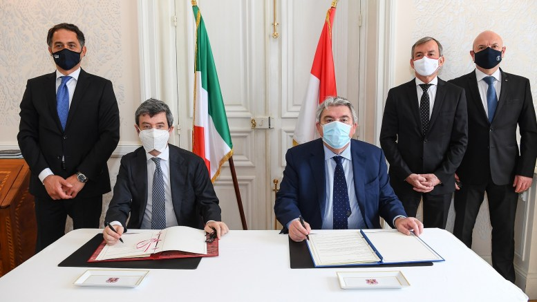 Il Ministro Orlando nel Principato Firma l'Accordo sul Telelavoro tra Monaco e l'Italia