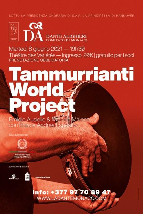 A Monaco I Tammurrianti World Project