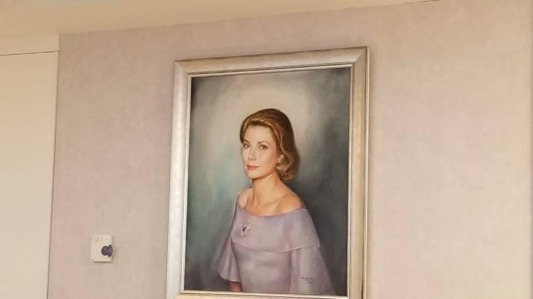 Ritratto della Principessa Grace Inaugurato all'Ospedale di Monaco