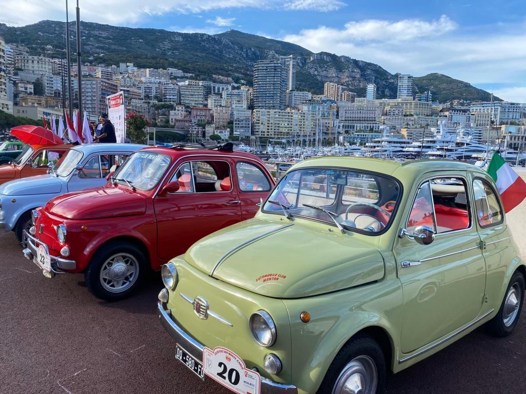 La mitica Cinquecento Protagonista a Monte Carlo