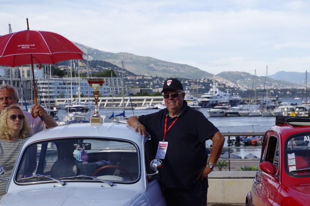 Premiazione Meeting Fiat 500 a Monte Carlo