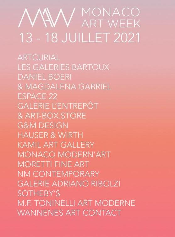 Monaco Art Week Itinerario alla Scoperta dell'Arte