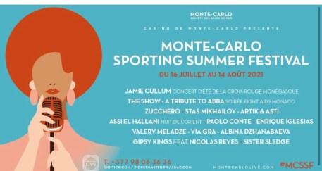Monte Carlo Sporting Summer Festival 2021