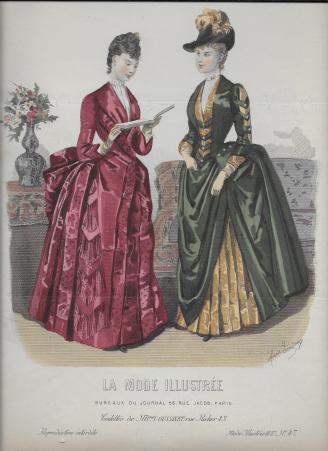 Le Dame delle Riviste di Moda Femminile dai Mercatini al Salotto di Casa