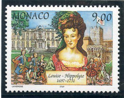 Francobollo Louise Hyppolite Di Monaco