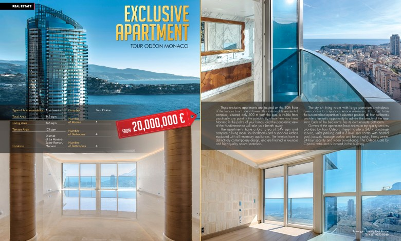 Photo of Tour Odéon Monaco: Exclusive Apartment