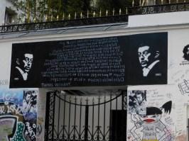 Gainsbourg's home, Paris