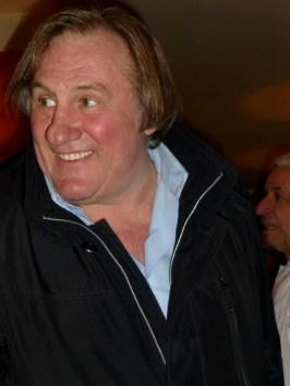 Gerard Depardieu at La Cigale Recamier