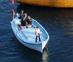 HSH Prince Albert with Bernard d'Alessandri arriving at Quai Louis II@FranckTerlin[3]