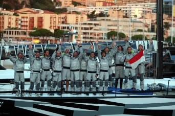 Monaco Racing Fleet onboard TP52 - Palermo-Montecarlo 2013