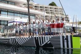 The B2 Monaco Racing Fleet members on arrival in Monaco BD_Palermo Montercarlo 2014@Andrea Carloni