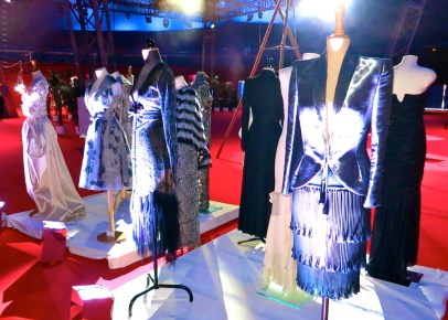 Elizabeth Wessel designed robes @CelinaLafuenteDeLavotha
