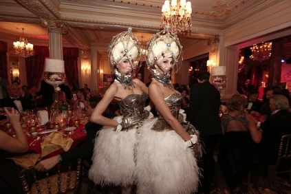 The Faberge Egg dancers
