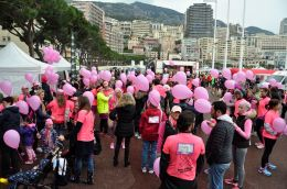 Pink Ribbon Walk at Port Hercules @PRW