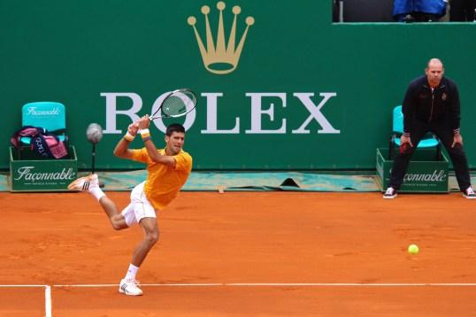 Novak Djokovic won the finals Apr.19, 2015 @CelinaLafuenteDeLavotha