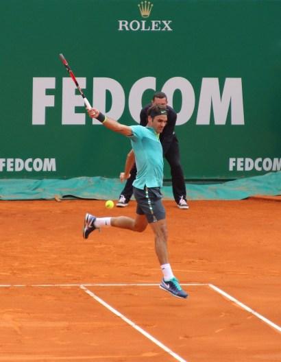 Roger Federer (Swiss) Apr 16, 2015 @CelinaLafuenteDeLavotha
