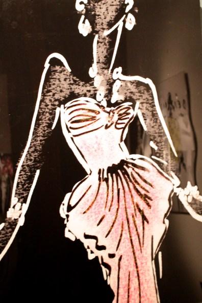 Sketch by Hubert de Givenchy (1) @CelinaLafuenteDeLavotha