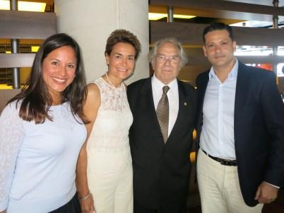 Argentines: Lorena Constanzo, Celina Lafuente de Lavotha, Adolfo Perez Esquivel & Martin Gramont, June14, 2015