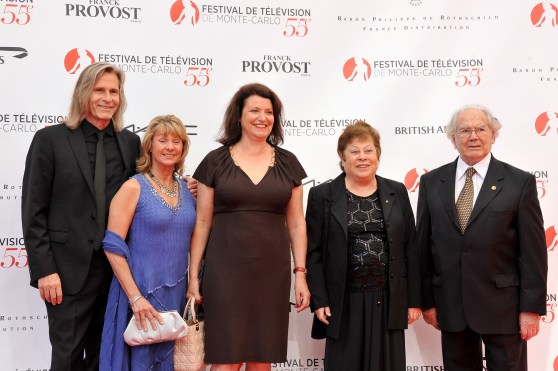 Ivan Suvanjieff, Dawn Engle, Isabelle Bonnal, Amanda Guerreno and Adolfo Perez Esquivel at photocall 55th MC TG Festival, June 14, 2015 @Manuel Vitali