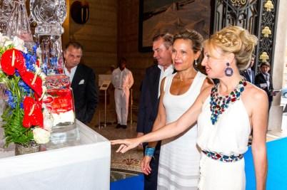 LL.AA.RR. Charles and Camilla de Bourbon des Deux Siciles, Nancy and Michel Dotta