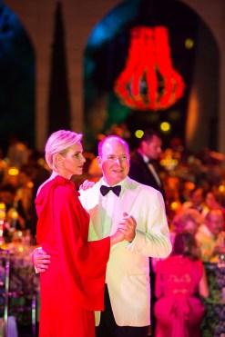 Prince Charlene and Prince Albert opened the Red Cross Ball 2015 @Eric MATHON, Palais Princier