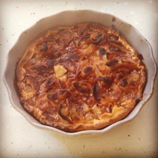 Delicious home made tart @CelinaLafuenteDeLavotha