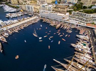 A bird's view of the Monaco Classic Week at the YCM MCC-JV-0047@mcclic