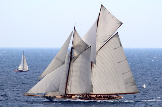 Magnificent classic boat during MCW2015 @CelinaLafuenteDeLavotha
