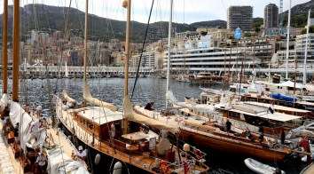 The classic boats during Monaco Classic Week 2015 @Alessandro Provati 00390