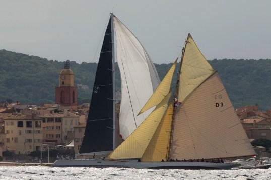 28/09/2015, Saint-Topez (FRA,83), Voiles de Saint-Tropez 2015, Day 1, 15 m @Gilles Martin Raget