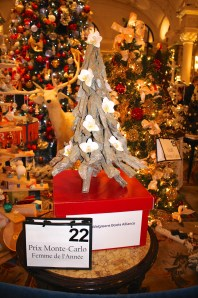 Christmas Tree No.22:2015 Prize Monte-Carlo Woman of the Year with beauty products by Walgreens Boots Allliance @CelinaLafuenteDeLavotha