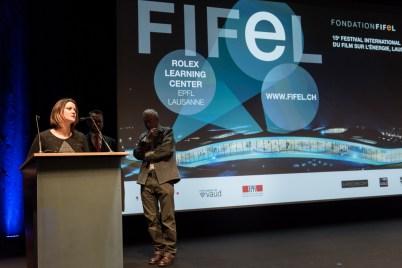 Sonia Le Grand of Fondation FIFEL @Richard Concept Photo