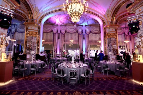 The Salle Empire beautifully decorated for the Christmas Ball Monte-Carlo: New York 2015 @laurentcia