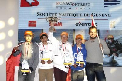 Crew members of the Societe Nautique de Geneve @Franck Terlin