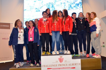 They reached the podium @Societe Nautique Monaco
