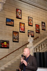Didier Zanette with his photos on the wall @CelinaLafuenteDeLavotha