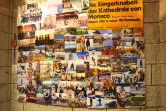 A collage of photos taken on tour @CelinaLafuenteDeLavotha